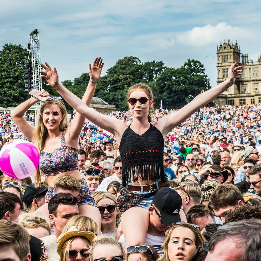 Crowd at Splendour Festival